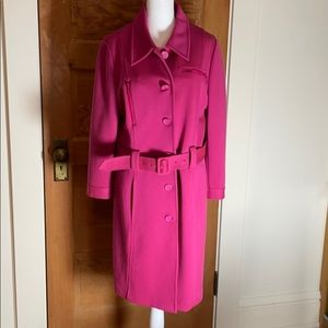 Ideology Gorgeous Berry Spring Coat Large
